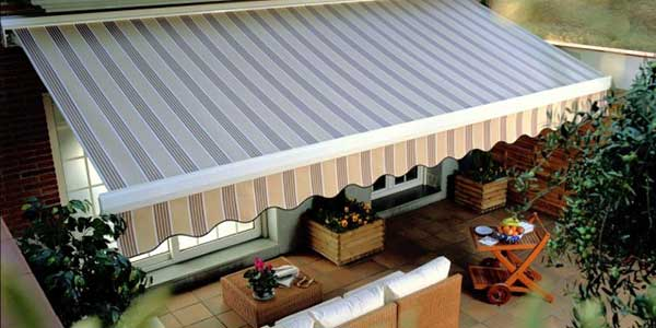 Exterior Fabric Blinds Canberra