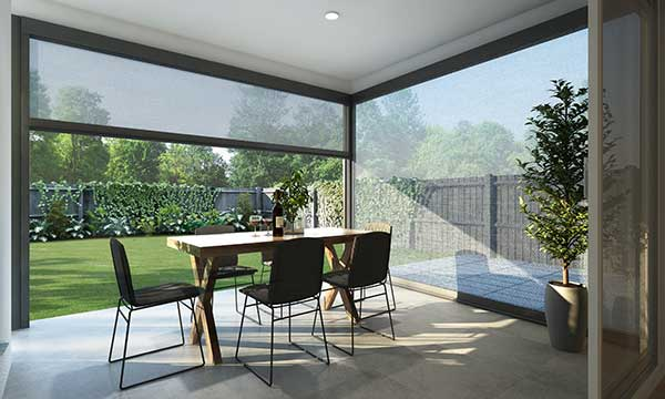 Outdoor shade blinds Canberra